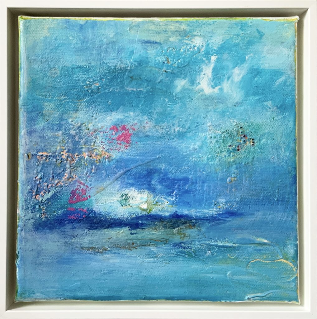 Dream of the sky 20x20cm