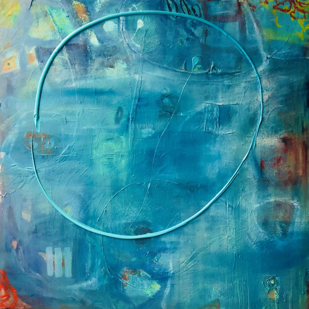 Mysterious 100x100cm