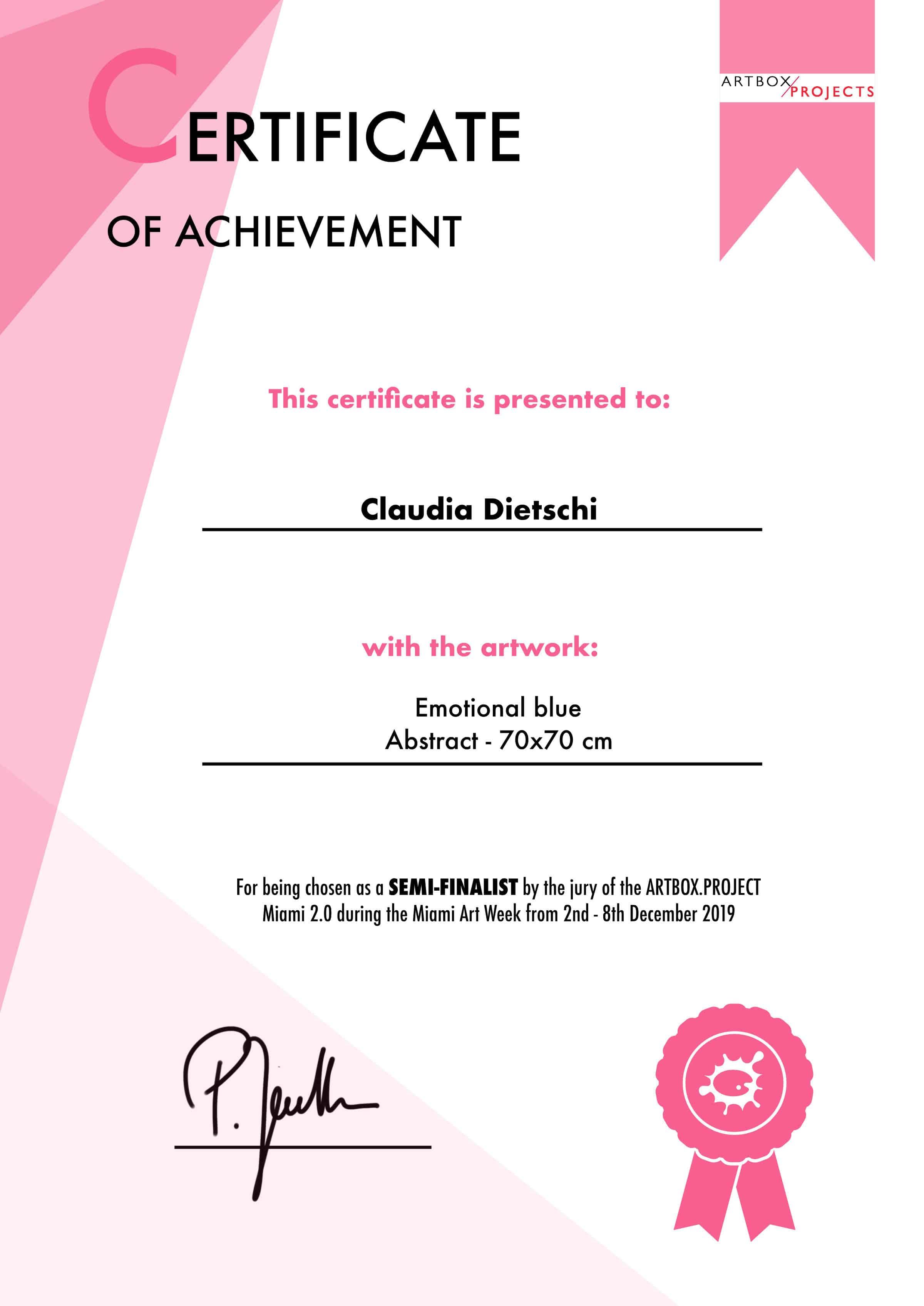 Zertifikat_Semifinalist_Claudia Dietschi_2400px